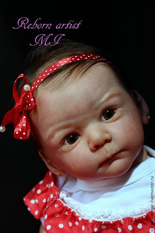 Куклы-младенцы и reborn ручной работы. Ярмарка Мастеров - ручная работа. Купить Мелисса. Handmade. Бледно-розовый, Молд