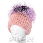 Аксессуары handmade. Livemaster - original item Women`s cap Yarmulke mink fur. Handmade.