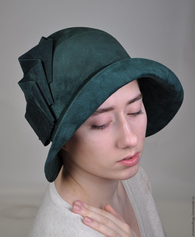 4ef54f2c95e4 Замшевая шляпа с полями