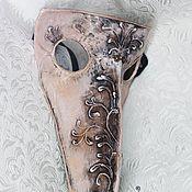 Одежда ручной работы. Ярмарка Мастеров - ручная работа Маска лекаря Карнавальная маска заказать маску. Handmade.
