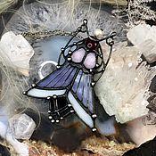 Украшения handmade. Livemaster - original item Twilight Moth Pendant. Handmade.