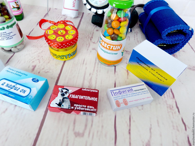Сладкая аптечка своими руками шаблоны 6