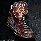 Обувь ручной работы handmade. Livemaster - original item Custom SHOES handmade . custom sneakers . Steampunk. Handmade.