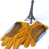 Аксессуары handmade. Livemaster - original item Gloves felt