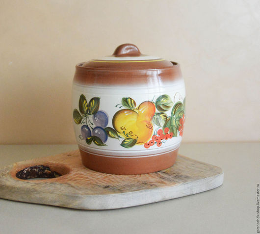 Кухня ручной работы. Ярмарка Мастеров - ручная работа. Купить Бочонок под соления (3,5л). Handmade. Керамика