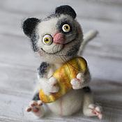 Куклы и игрушки ручной работы. Ярмарка Мастеров - ручная работа Кот с батоном. Handmade.