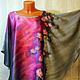 Блузки ручной работы. Ярмарка Мастеров - ручная работа. Купить Батик-блуза Розовая дымка. Handmade. Розовый, блуза