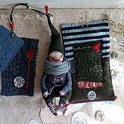 Куклы и игрушки ручной работы. Ярмарка Мастеров - ручная работа Гномы в одеяле. Handmade.