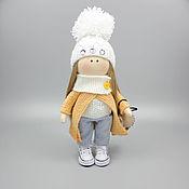 Куклы и пупсы ручной работы. Ярмарка Мастеров - ручная работа Авторская кукла ручной работы Симона Кукла интерьерная текстильная. Handmade.