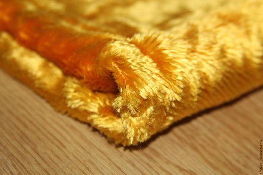 Винтажные предметы интерьера. Ярмарка Мастеров - ручная работа. Купить Винтажный плюш №3. Handmade. Желтый, плюшевая игрушка, ткань