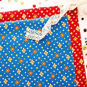 Материалы для творчества ручной работы. Ярмарка Мастеров - ручная работа (№93)Ткань ситец хлопок 100% для тильды, шитья и пэчворка. Handmade.