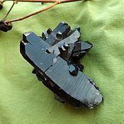 Материалы для творчества handmade. Livemaster - original item Druse with Elestial a Morion with a phantom. Handmade.