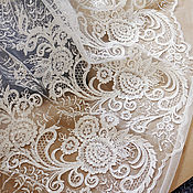 Материалы для творчества handmade. Livemaster - original item Marvelous lace with sequins, high quality, Eleanor. Handmade.