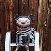 Куклы и игрушки ручной работы. Ярмарка Мастеров - ручная работа Котик. Серенький. Handmade.