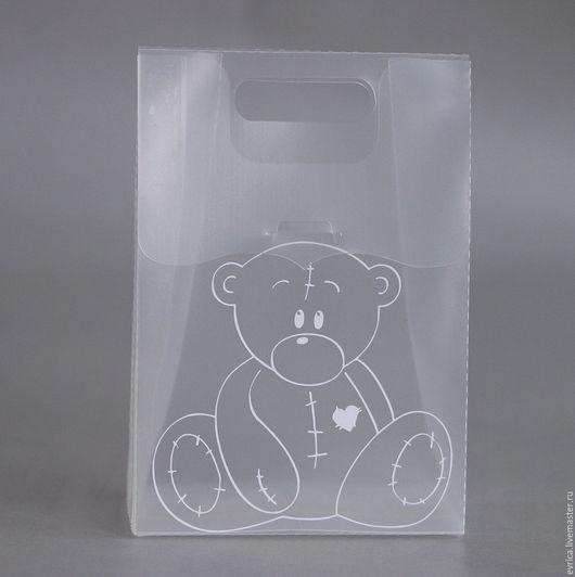 """Подарочная упаковка ручной работы. Ярмарка Мастеров - ручная работа. Купить """"Милый Мишка"""" подарочная упаковка. Handmade. Мишка тедди"""