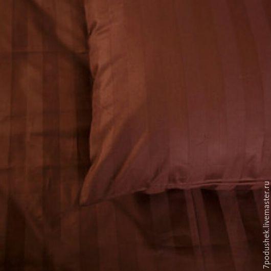 Текстиль, ковры ручной работы. Ярмарка Мастеров - ручная работа. Купить Постельное белье сатин Горячий шоколад. Handmade.