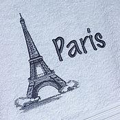 Полотенца ручной работы. Ярмарка Мастеров - ручная работа Париж. Полотенце для любимых ручек.. Handmade.