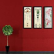 Картины и панно ручной работы. Ярмарка Мастеров - ручная работа Орнаментальная картина. Handmade.