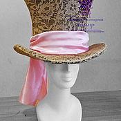 Одежда ручной работы. Ярмарка Мастеров - ручная работа Шляпа шляпника. Аксессуары к костюмам. Handmade.