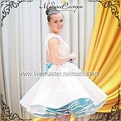 Одежда handmade. Livemaster - original item Women`s dress Turquoise Art.-081. Handmade.