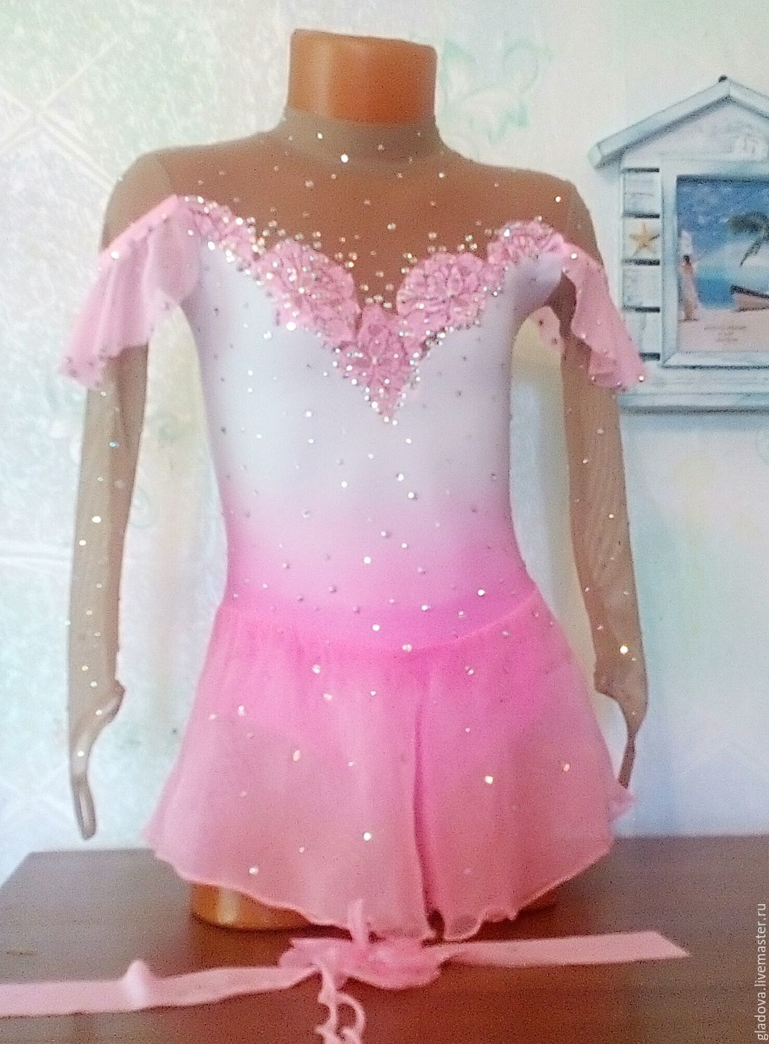 Dress for figure skating performances, Carnival costumes for children, Tolyatti,  Фото №1