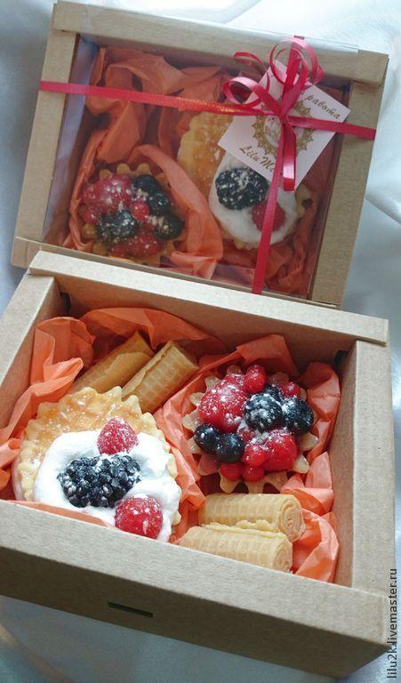 Подарочный набор мыла `пирожные`