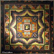 Для дома и интерьера ручной работы. Ярмарка Мастеров - ручная работа Лоскутное покрывало СУДАРУШКА одеяло лоскутное. Handmade.