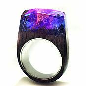 Украшения handmade. Livemaster - original item Ring made of wood