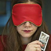 Аксессуары handmade. Livemaster - original item Mask of eco-leather props. Handmade.