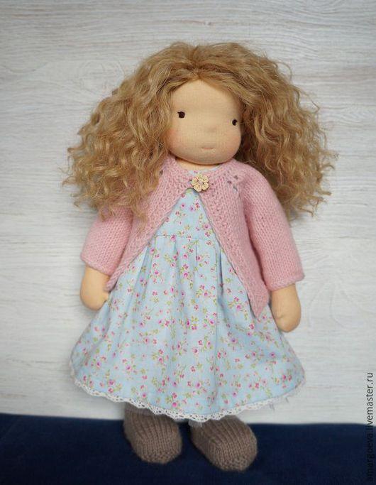 Вальдорфская игрушка ручной работы. Ярмарка Мастеров - ручная работа. Купить Вальдорфская кукла, 36 cм.. Handmade. Вальдорфская кукла