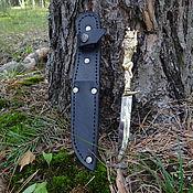 Сувениры и подарки handmade. Livemaster - original item Weapons: Knife camping Wolf. Handmade.
