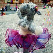 Куклы и игрушки ручной работы. Ярмарка Мастеров - ручная работа Балерина бегемотиха. Handmade.