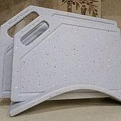 Доски ручной работы. Ярмарка Мастеров - ручная работа Разделочные доски из искусственного камня. Handmade.