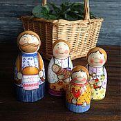 Куклы и игрушки ручной работы. Ярмарка Мастеров - ручная работа Хлеб да соль.. Handmade.