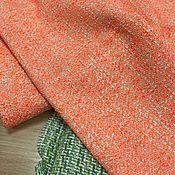 Материалы для творчества ручной работы. Ярмарка Мастеров - ручная работа Летняя шанелька неонового оранжевого цвета. Handmade.