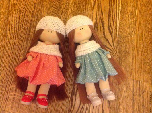 Куклы тыквоголовки ручной работы. Ярмарка Мастеров - ручная работа. Купить Милые девченки. Handmade. Зеленый, кукла интерьерная