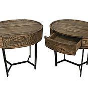 Для дома и интерьера handmade. Livemaster - original item Bedside tables made of solid wood. Handmade.