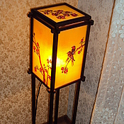 Для дома и интерьера handmade. Livemaster - original item A floor lamp is in stained-glass window style. Handmade.