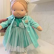 Куклы и игрушки handmade. Livemaster - original item Sabina (inspired) - Waldorf doll. Handmade.