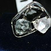 Украшения handmade. Livemaster - original item Rings: 5 large rings.Ural gems silver. Handmade.