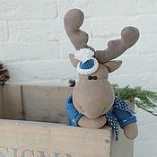 Куклы и игрушки handmade. Livemaster - original item Moose Alves. Interior toy.. Handmade.