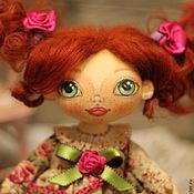 Куклы и игрушки ручной работы. Ярмарка Мастеров - ручная работа Игровая текстильная кукла Анфиса.. Handmade.