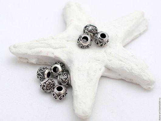 Для украшений ручной работы. Ярмарка Мастеров - ручная работа. Купить Бусины серебро 925 Таиланд. Handmade. Бусины