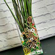 """Для дома и интерьера ручной работы. Ярмарка Мастеров - ручная работа Ваза цветочная """"Сады цветут"""". Handmade."""