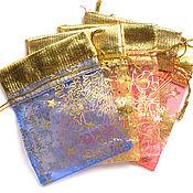 Материалы для творчества handmade. Livemaster - original item Bags organza packaging 8,5 x 12 mm. Handmade.