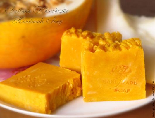 Мыло детское с нуля, натуральное мыло, мыло на отваре календулы, мыло с ланолином, без кокосового масла, мыло с натуральным красителем, детское мыло ручной работы, ароматное мыло.