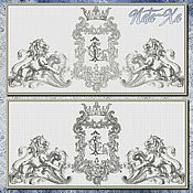 Материалы для творчества handmade. Livemaster - original item design for machine embroidery. vintage 2. Handmade.