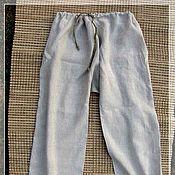 Одежда ручной работы. Ярмарка Мастеров - ручная работа Порты льняные. Handmade.