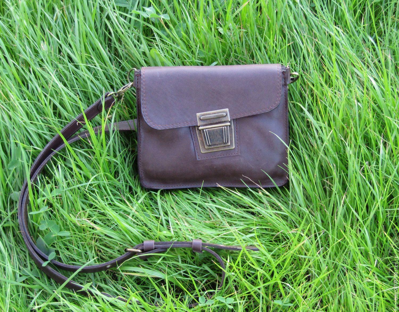 handy: Men's leather messenger bag PILOT, Man purse, Izhevsk,  Фото №1