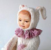 """Куклы и игрушки ручной работы. Ярмарка Мастеров - ручная работа Тедди долл """"плюшевый заяц"""". Handmade."""